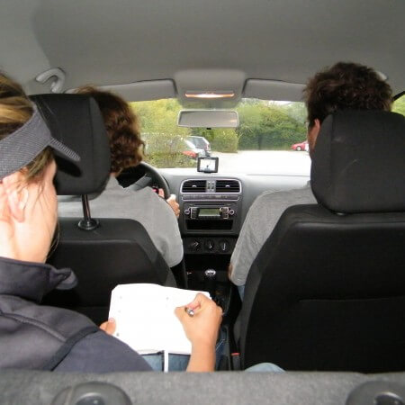 In-car Collaboration