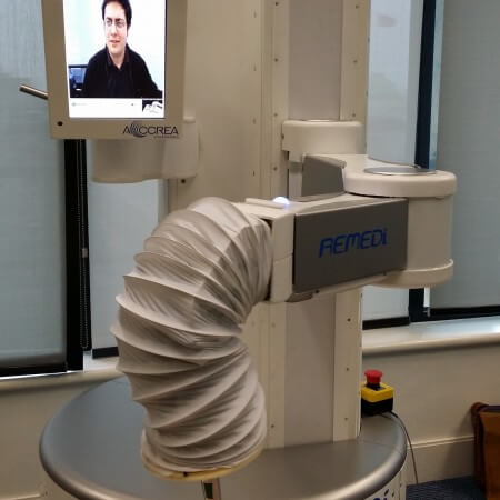 The first ReMeDi Robot Prototype