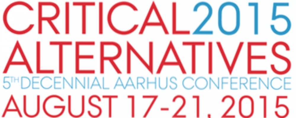 Logo of the Critical Alternatives Conference
