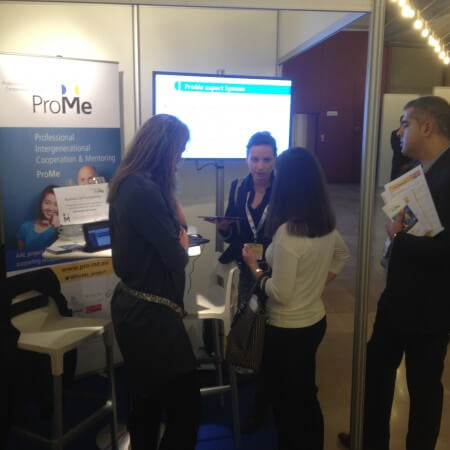 AAL Forum ProMe Booth