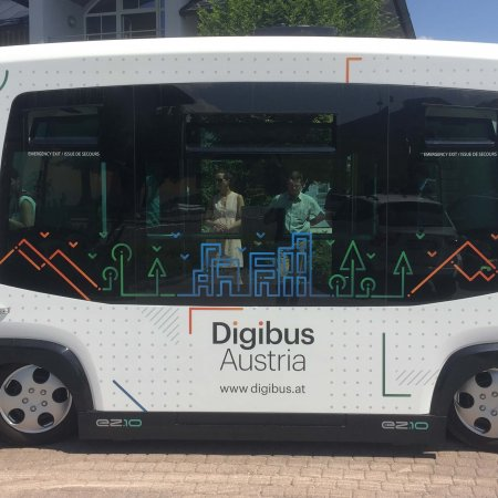 Digibus® Austria - Salzburg's Autonomous Bus on the Road