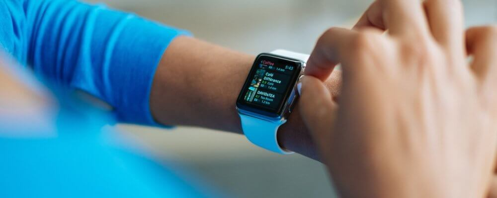 Photo of smartwatch